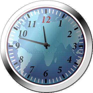 Doomsday clock - 12 Minutes To Midnight