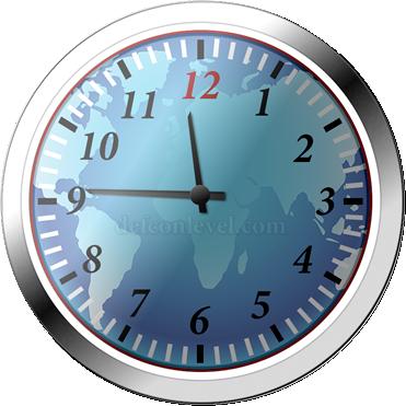 Doomsday clock - 14 Minutes To Midnight