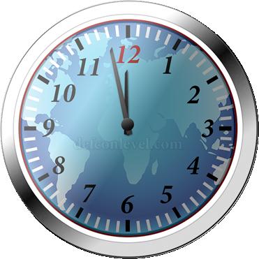 Doomsday clock - 2 Minutes To Midnight