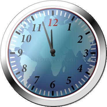 Doomsday clock - 3 Minutes To Midnight