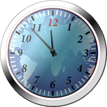 Doomsday clock - 7 Minutes To Midnight